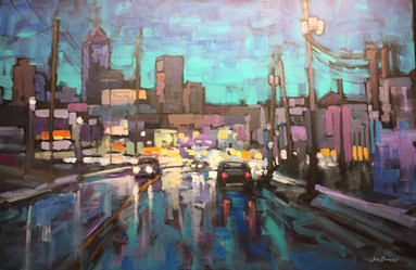 Jed Dorsey - City Lights (Indianapolis, IN) - SOLD