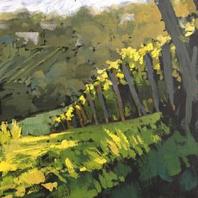 Giveaway Painting 2 - Beautiful Vineyard - 6x6