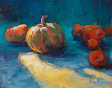 Jed Dorsey - Colorful Harvest - 11x14 - Available