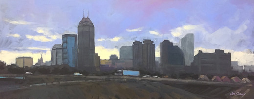 Jed Dorsey - Crossroads of My Heart (Indianapolis, IN) - 40x16 - SOLD