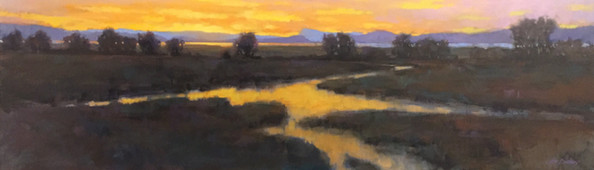 Jed Dorsey - Dusk's Glory - SOLD