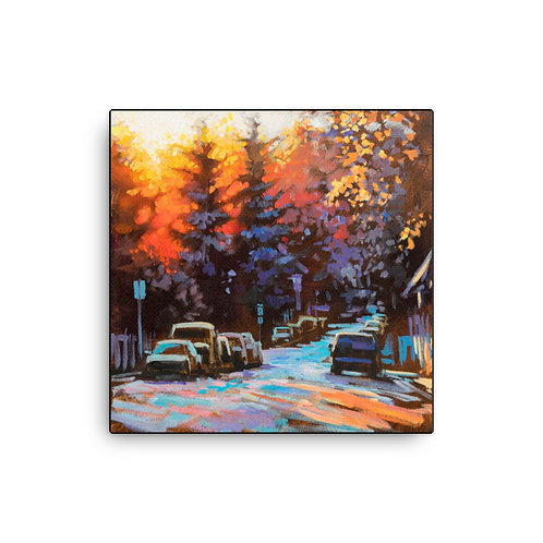 """""""A Beautiful Contrast"""" - High Quality Canvas Print"""