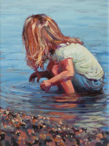 Jed Dorsey - Water Treasure - 24x18 - SOLD