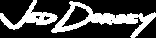 Logo - Jed Dorsey  - Transparent White -