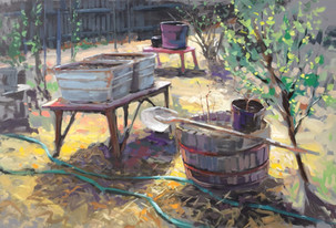 Jed Dorsey - Garden Of Life - 24x36 - SOLD