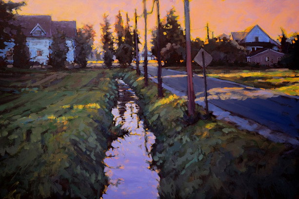 Jed Dorsey - That One Evening - 24x36 - SOLD