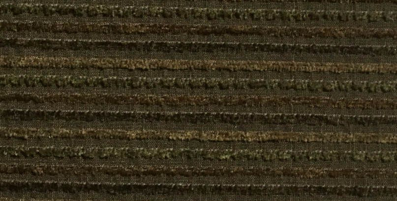 Green, Tan, Brown Raised Stripe