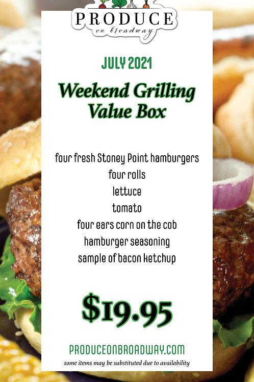 Weekend Grilling Box