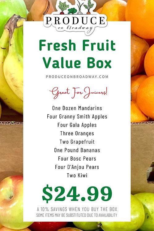 Fresh Fruit Value Box