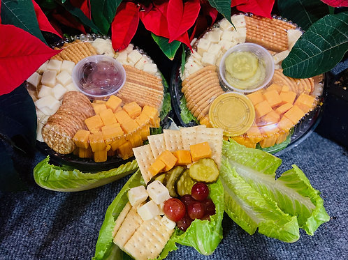 large cheese & cracker tray