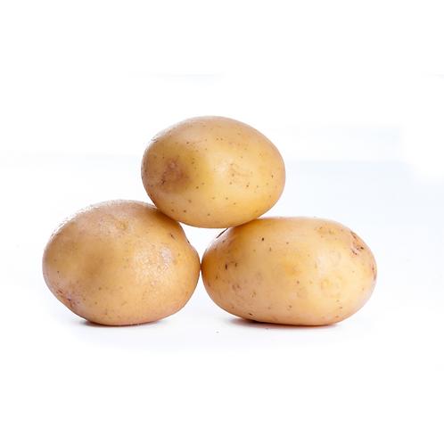 small white potatoes
