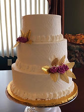 wedding cake from Cooper's Cakes and Pasteries at The Markets at Hanover