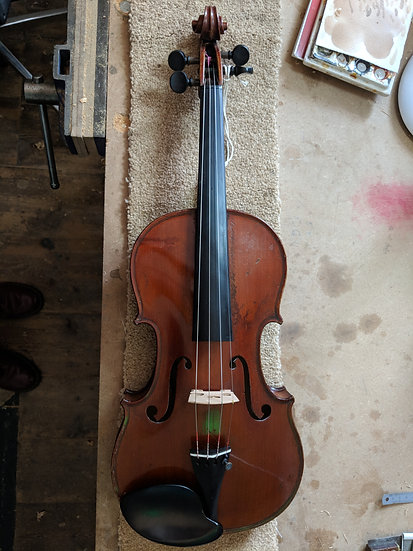 Beautiful French Trade Early 1900s 4/4 Violin