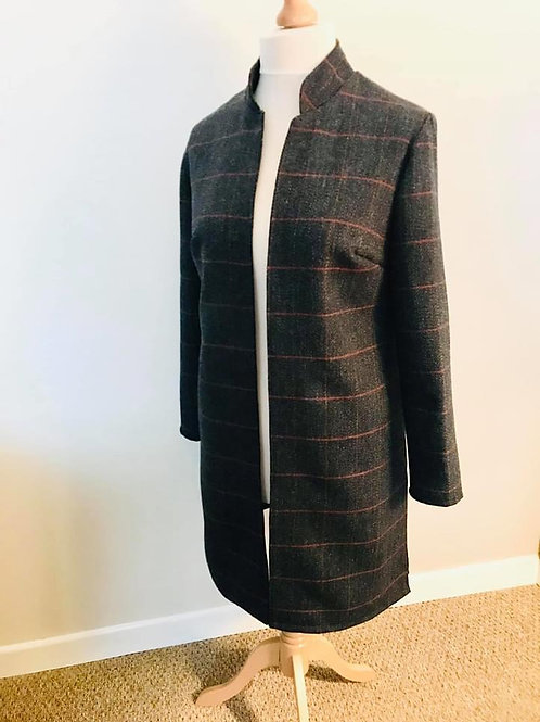 EQUI-STITCH LONG LINE OVER JACKETS
