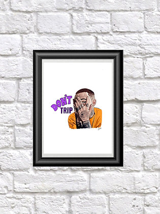 Don't Trip Mac Miller Prints