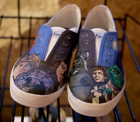 Hand Painted Star Wars Keds