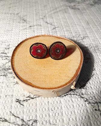 Donut Worry Earring Studs
