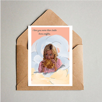 Leslie Knope Card