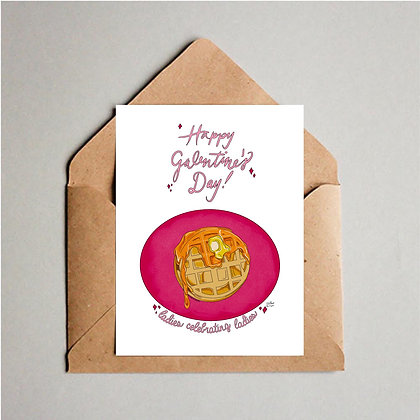 Galentine's Day Greeting Card