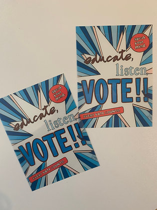 VOTE! Stickers