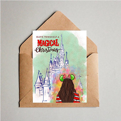 Magical Christmas Greeting Cards