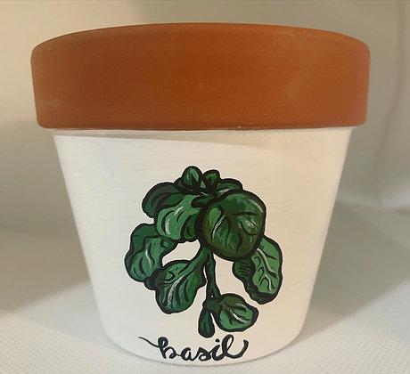 Basil Flower Pot
