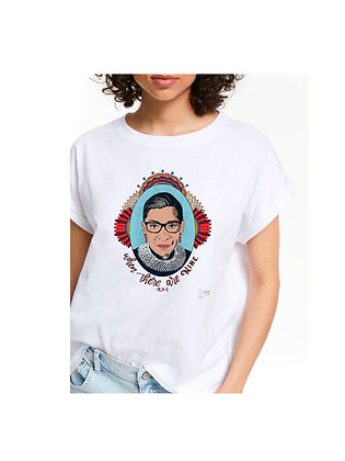 When There Are Nine RBG Tshirt