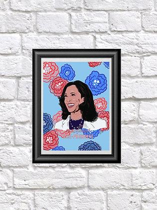 Madame Vice President Fine Art Print