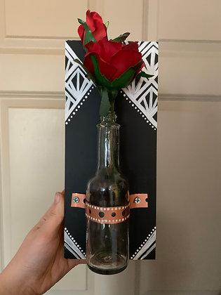 Art Deco Flower Bottle