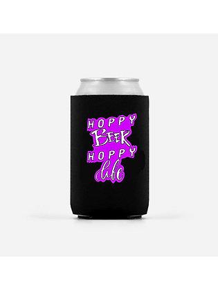 Beer Makes Me Hoppy Beer Koozie