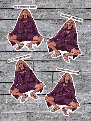 Beyoncé Stickers