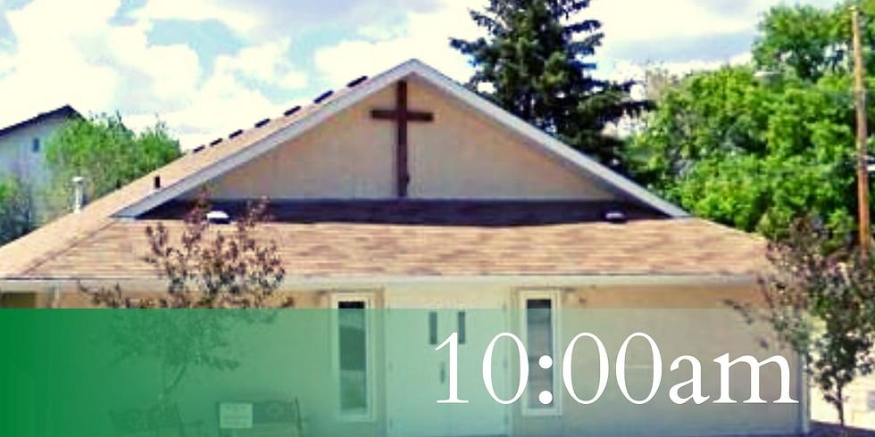 June 13 | 10:00am (ONE SERVICE)
