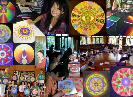 Certified SOMA SOul MAndala Art Therapist with Katharina Bless