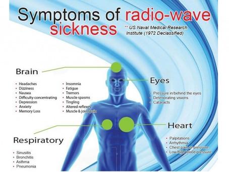 คุณกำลังป่วยเพราะคลื่นวิทยุและสนามแม่เหล็กไฟฟ้ารอบตัว อยู่หรือเปล่า?