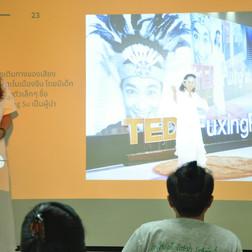 สู่เวที TEDx FuxingPark เซี่ยงไฮ้ ประเทศ