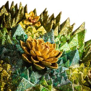 Sonia Kiki Jones papatuanuku detail crystal mandala