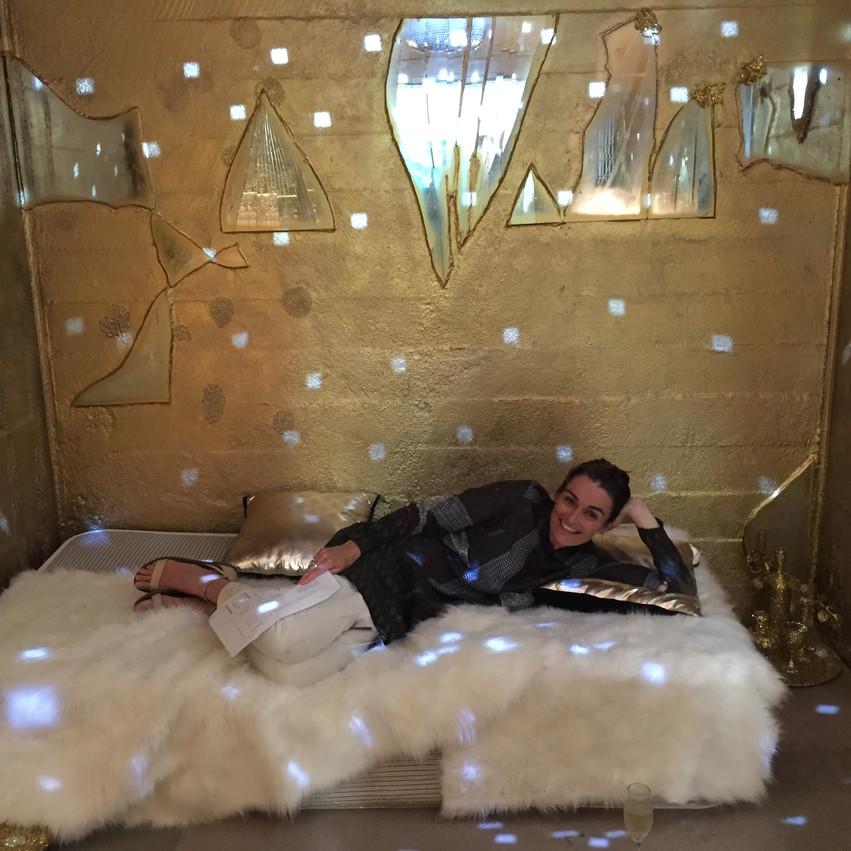 ArtCell Golden Cell opening night Sonia Richter