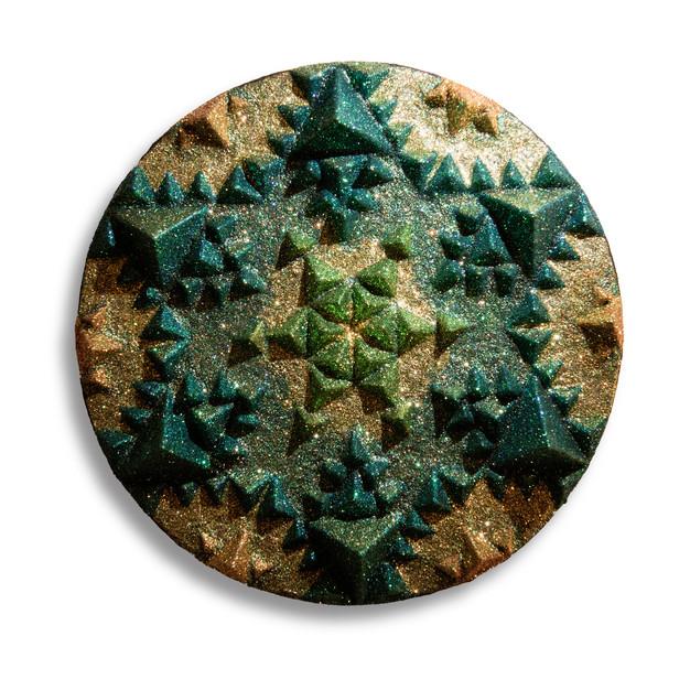 Sonia Kiki Jones Fractal Fun Dust crystal mandala