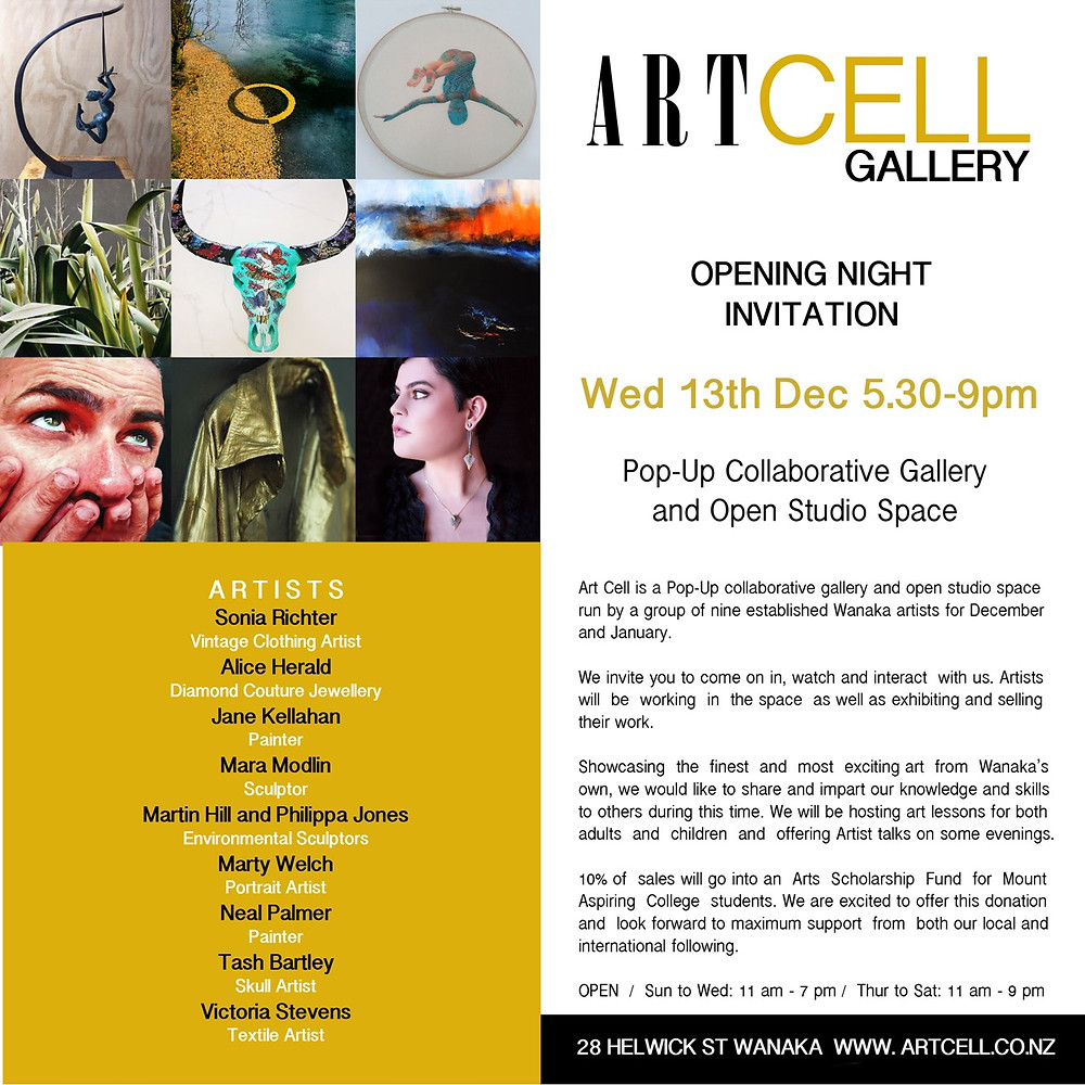 ArtCell opening invitation!
