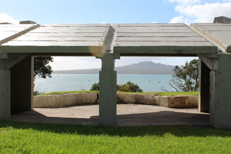 Fort Takapuna gun emplacement
