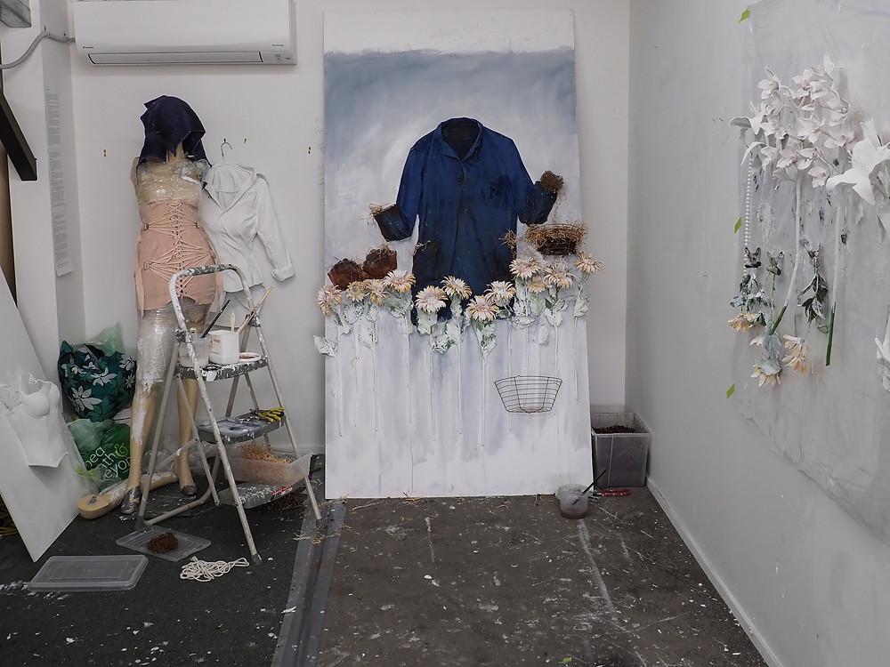 The start of the artwork...