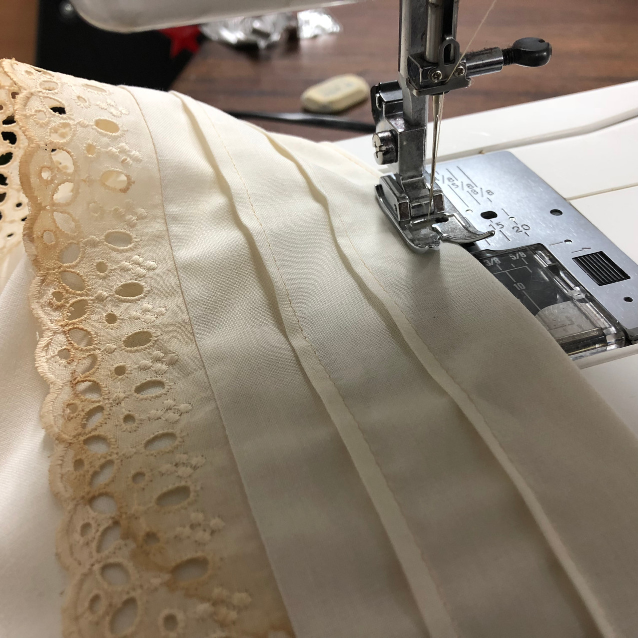 Sonia Richter sewing
