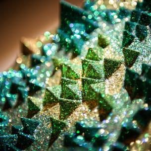 Sonia Kiki Jones crystal mandala detail