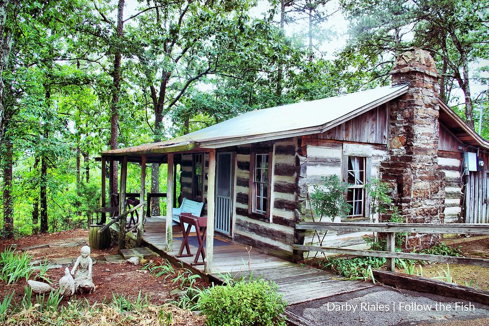 Indian Rock Trail Log Cabin