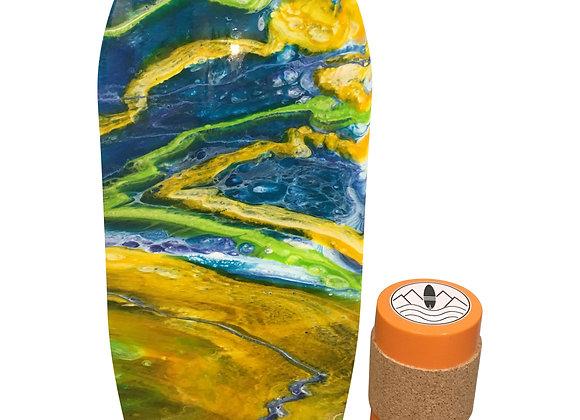 Limited Edition Resin Art board - The Sun