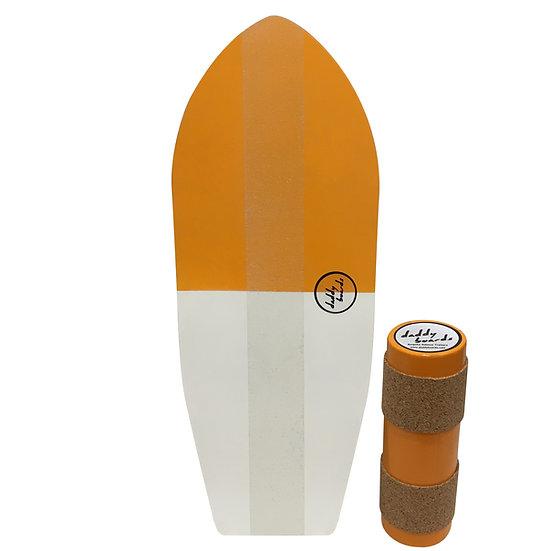 Surf - Orange and White