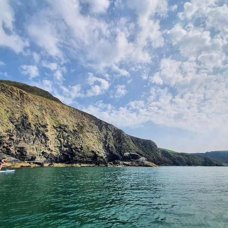 West Wales SUP Adventure weekend with Heron & Hush and Daddyboards