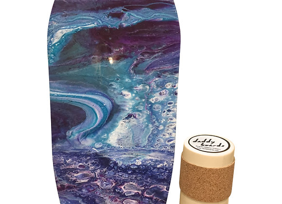 Limited Edition Resin Art Board - The Wave