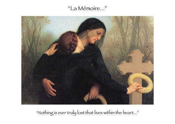 """La Mémoire """"Remembrance"""" (1)"""