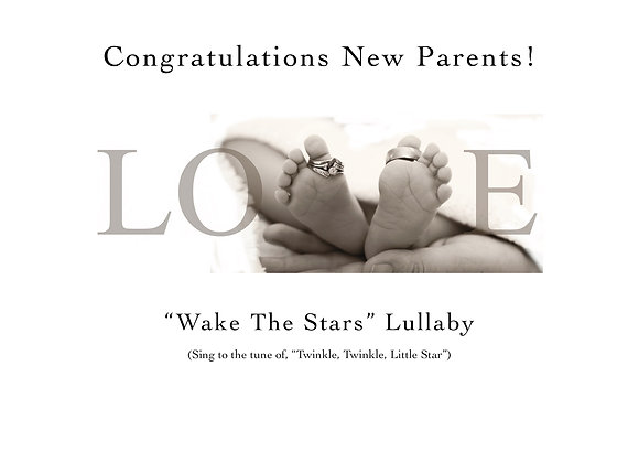 Congratulations New Parents (Love-Lullaby Included)